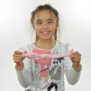 Squish syrenka, różowo-niebieska, 21cm, w Disp