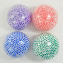Flutschi-Ball Jumbo with water pearls, 4 pieces in