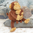 wholesale Toys: Laber monkey with baby, '' Nana and Coco &