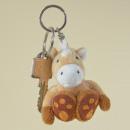 wholesale Toys: Plush Horse Keychain, 7cm
