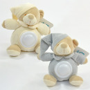 Baby stuffed toy with night light, bear, 4 colors