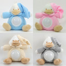 wholesale Figures & Sculptures: Baby stuffed animal with night light, duck, 4 colo