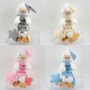 Baby plush toy Greifspirale, duck, 4 colors sorti