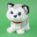 wholesale Dolls &Plush: Running plush dog Bello with sound, 11x18x17cm