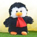 Karácsonyi töltött állatok, pingvin, kb. 25cm