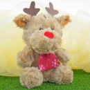 Christmas stuffed animals, reindeer, about 25cm