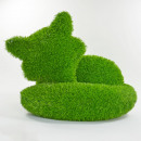 wholesale Garden Furniture: AniPlants, grass figure, '' fox ''