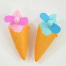 ingrosso Climatizzatori e ventilatori: Mini ventaglio a forma di gelato, nei colori bl
