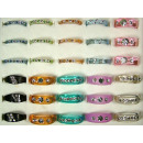 wholesale Jewelry & Watches: Fingerrings of acrylic assorted with crystals 16-1