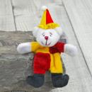 Pillitaps Clown Bär Felix, 8cm