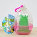 Növekvő Frog Prince átlátszó tojás, 9.6cm,