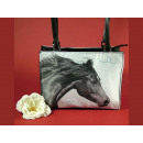 Handbag retro, horse head 20x27cm