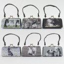 Dog MiniBag black / white, 6- assorted, Mario