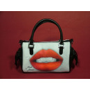 wholesale Handbags: Lips handbag, Mario Moreno design, 20x15cm
