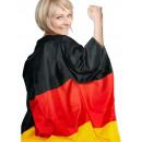 Cloak voetbal vlag Duitsland - 87x150cm