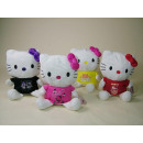 grossiste Articles sous Licence: Hello Kitty, 40cm, 4- assorti