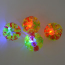 Rainbow ball with suction cups and light, 12 piece