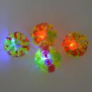 ingrosso Altro: Palla Arcobaleno con ventose e la luce, 12 pezzi i