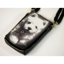 Dog mobile phone  handbag (new), Westie, Mario More