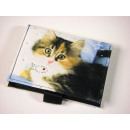 Cat wallet flat, Tricolor Kitten, Mario Mor