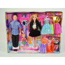wholesale Toys: Fashion Doll Sabrina with man and daughter