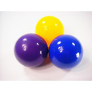 Sun ball, 100mm in yellow, blue and purple, 24 in