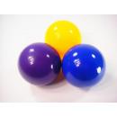 Sun Ball, 100mm sárga, kék és lila, 24 Poly