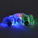 Flashing car crystal optic 8x3x2cm in the Display