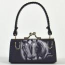 Minibag caballo s / w, los hermanos de caballos, M