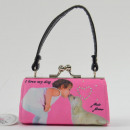 MiniBag dog, pink, dog kiss, Mario Moreno, Color