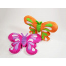 Butterfly cushion made of plush, 2-way assorted,