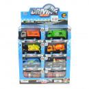 Großhandel Spielwaren: Aufzieh LKWs mit Rückzug, DIE CAST, Metall und Kun