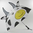 Umbrella, safety umbrella, cow with Lic