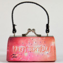 Minibag, Happy Birthday, fuegos artificiales rojos