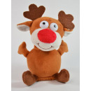 Laber-reindeer Rudolph, who perverts everything, i