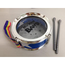 Mini drum with 2 sticks, 11x5cm, incl