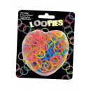 Loopies, Loom Bandz 200 pierścienie Webgabel + 6 V