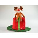 Dancing hat, Rudolph reindeer, including battery