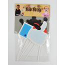 Photo accessories, photo party, accessory set 2, a