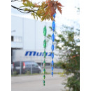 wholesale Decoration: Wind play, spiral, 6 iridescent colors assorted,
