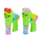Bubble pistol Froggy, lying frog, with