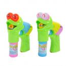 Seifenblasenpistole Froggy, liegender Frosch, mit