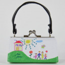 wholesale Handbags: MiniBag, Happy Family drawing, Mario Moreno, Col