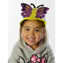 wholesale Fashion & Apparel: Moss cap,  butterfly, purple, red, blue, 1