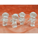 Blumenengel Polyresin, Angel, set of 4, 4x5,5