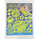 wholesale Wall Tattoos: Wall -Tattoo afterglow, planets, 31,5x30,5cm