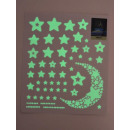 wholesale Wall Tattoos: Wall -Tattoo afterglow, stars and moon, 21x24