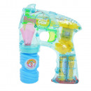 Bubble Gun Turbo Space, with light, transp