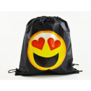 Emoticon, sac de sport Mogee, 39 X 34 cm, Heart-Sh