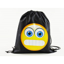 Emoticon, MOGee sports bag, 39 X 34 cm, Grimacing